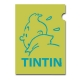 A4 Plastic Folder The Adventures of Tintin Snowy Green Perfil (15162)