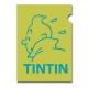 Carpeta dossier A4 Las aventuras de Tintín Perfil Verde (15162)