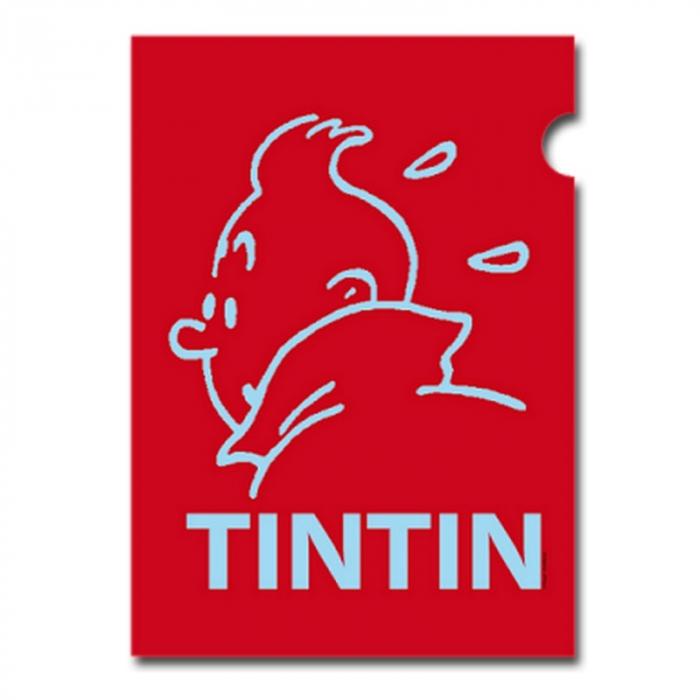 Carpeta dossier A4 Las aventuras de Tintín Perfil Rojo (15163)