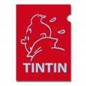 A4 Plastic Folder The Adventures of Tintin Red Perfil (15163)