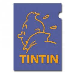 A4 Plastic Folder The Adventures of Tintin Mallow Perfil (15164)