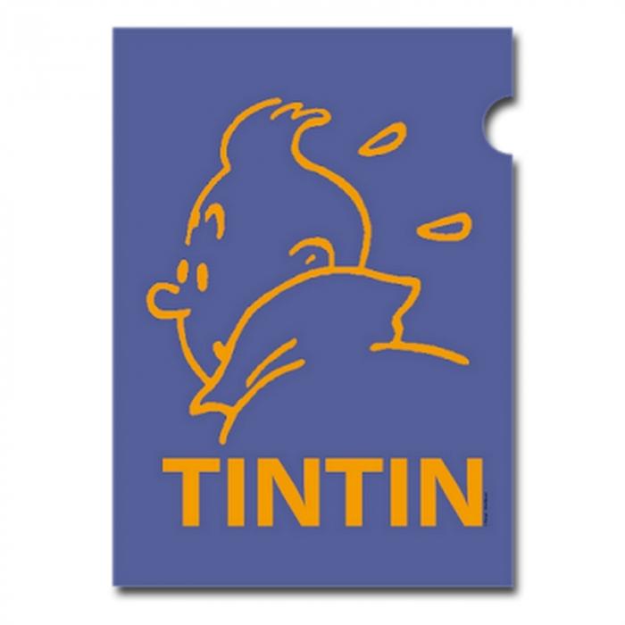 Pochette plastique A4 Les Aventures de Tintin Perfil Mauve (15164)