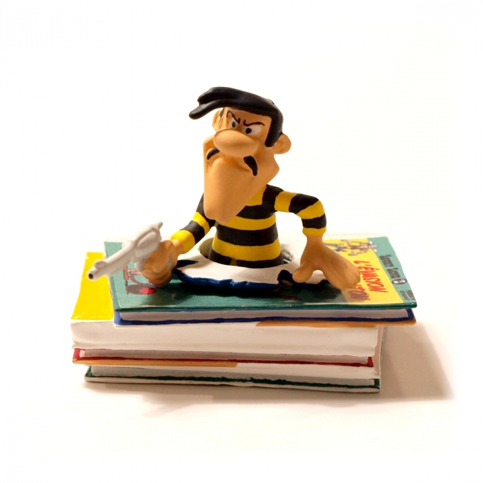 Figurine Pixi: Lucky Luke Joe Dalton Piles & Faces - 6357 (2012)