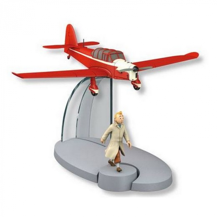 Tintin Figure collection The Red plane Percival Prentice 29557 (2015)