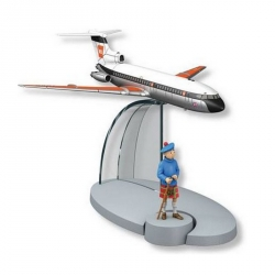 Figurine de collection Tintin L'avion British Eureopean Airways Nº39 29559 2016