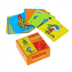 Playing cards Memory Game The Adventures of Tintin V2 51070 (2016)