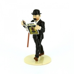 Figura Pixi / Moulinsart de colección Hernández Lisez Tintin 46303 (2016)