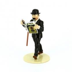 "Figurine Pixi / Moulinsart de collection Dupont  ""Lisez Tintin"" 46303 (2016)"