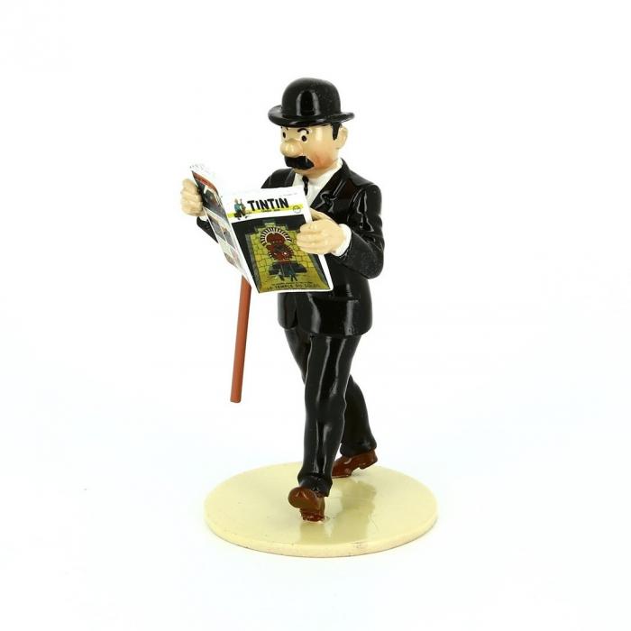 "Figura Pixi / Moulinsart de colección Hernández ""Lisez Tintin"" 46303 (2016)"