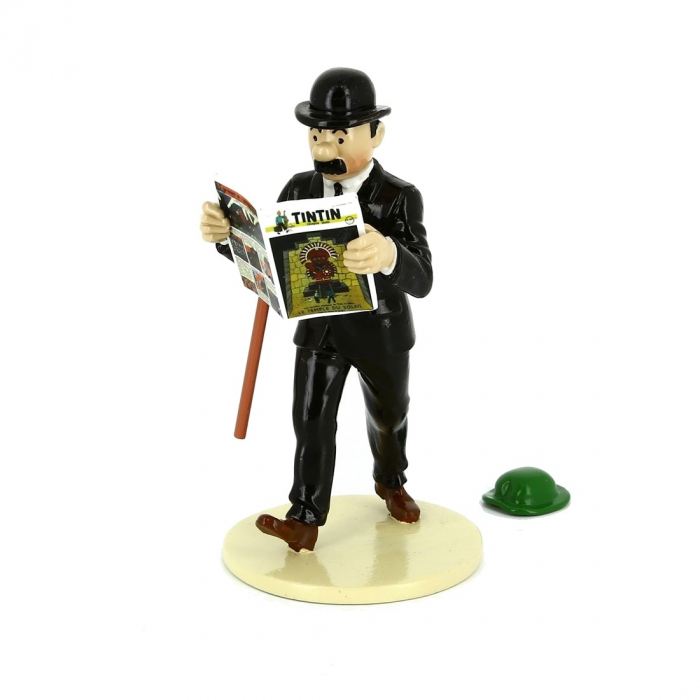 "Figurine Thomson with the Calculus Hat ""Lisez Tintin"" 46302 (2016)"