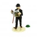 """Figurine Dupond et le chapeau de Tournesol """"Lisez Tintin"""" 46302 (2016)"""