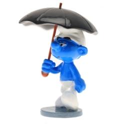 Figura de colección Pixi El Pitufo con el paraguas 6421 (2016)