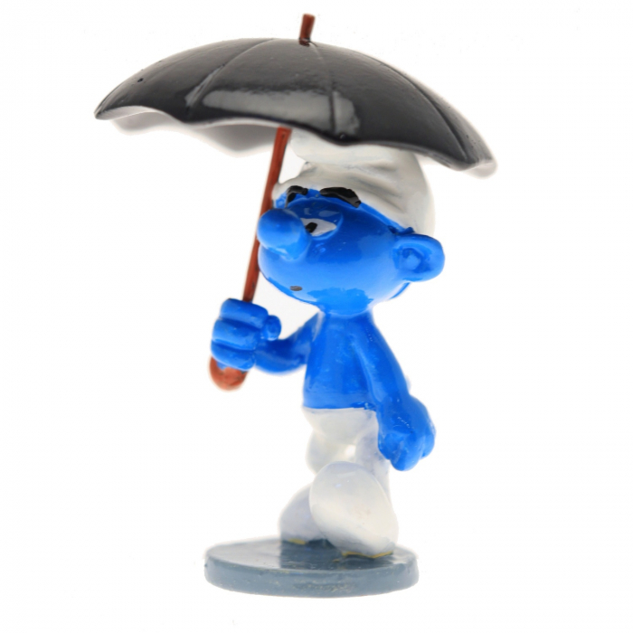 Collectible Figure Pixi The Smurf with umbrella 6421 (2016)