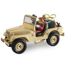 El coche Jeep CJ5 1960 de Spirou y Fantasio Figures et Vous - GF09 (2016)