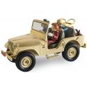 La voiture Jeep CJ5 de 1960 Spirou et Fantasio Figures et Vous - GF09 (2016)