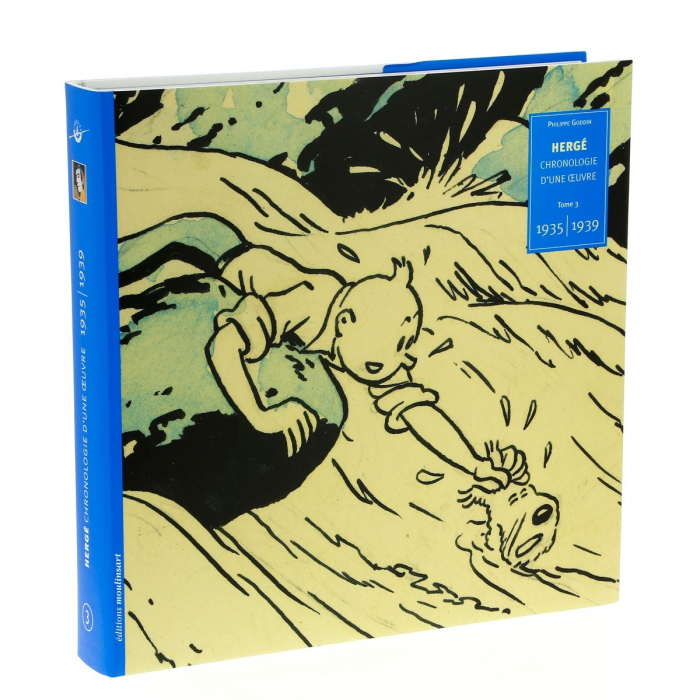 Tintin Hergé, Chronologie d'une oeuvre 1935-1939 Tome 3 (28498)