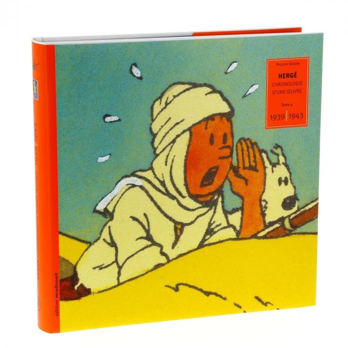 Tintín Hergé, Chronologie d'une oeuvre 1939-1943 Tome 4 (24017)