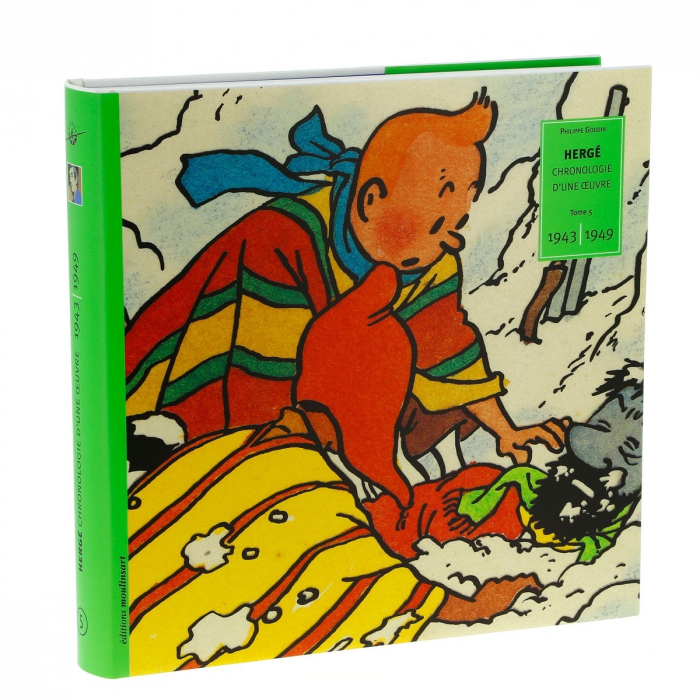 Tintin Hergé, Chronologie d'une oeuvre 1943-1949 Tome 5 (24052)