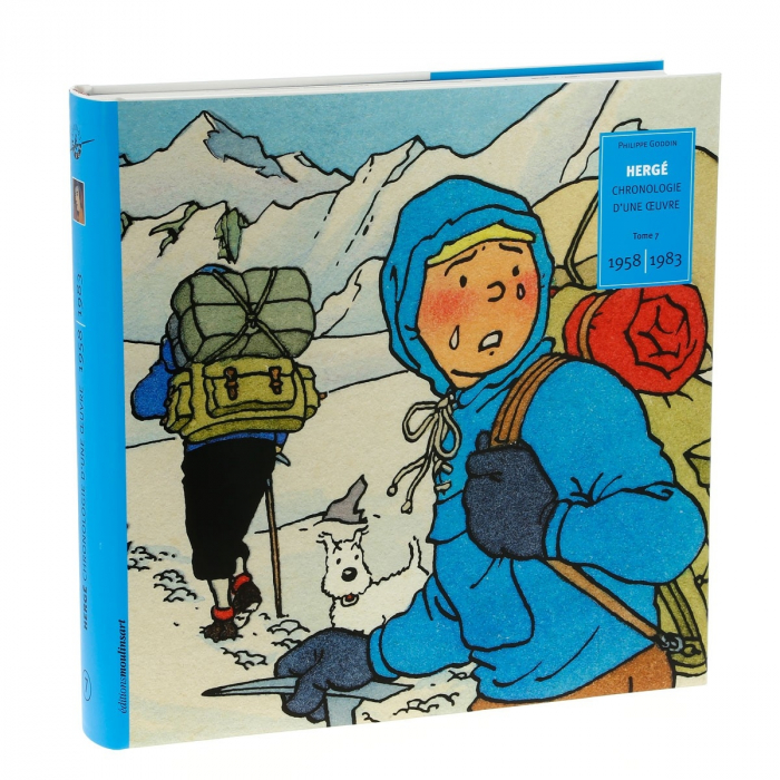 Tintin Hergé, Chronologie d'une oeuvre 1950-1957 Tome 7 (24239)