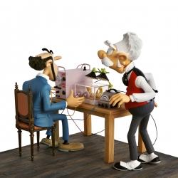 L'enlèvement de Champignac Spirou et Fantasio Figures et Vous - FVV04ABC (2011)