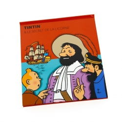 Libro animado Moulinsart Tintin El secreto del unicornio FR (24205)