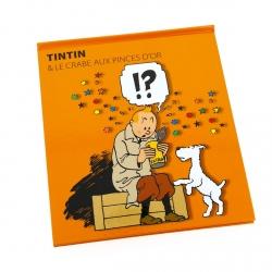 Libro animado Moulinsart Tintin El cangrejo de las pinzas de oro FR (24207)