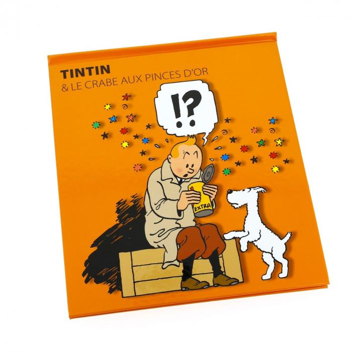 Livre animé Pop-up Moulinsart Tintin et le crabe aux pinces d'or (24207)