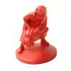 Figura de colección Tintín Abdallah Moulinsart Rojo Monocromo (42161)