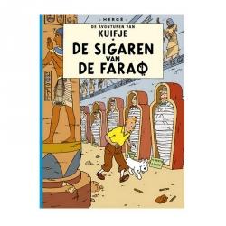 Album Les Aventures de Tintin: De sigaren van de farao A5 (Néerlandais)