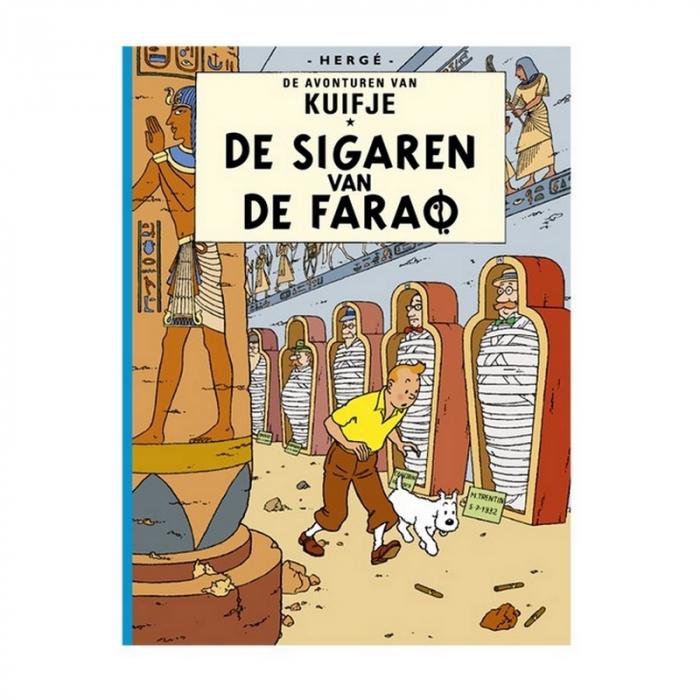 Album Les Aventures de Tintin: De sigaren van de farao (Néerlandais)