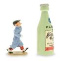 Figura de colección Pixi Spirou con la botella Pchitt 6565 (2015)