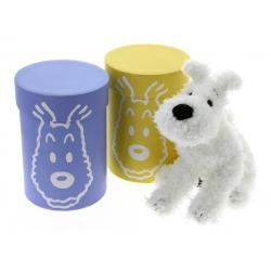 Soft Cuddly Toy Tintin with gift box: Snowy 20cm 35137 (2016)