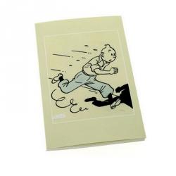 Carnet de notes Tintin L'art d'Hergé 12,5x20cm (54365)
