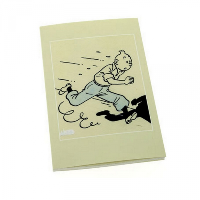 Bloc de notas / Libreta Tintín El Arte de Hergé 12,5x20cm (54365)