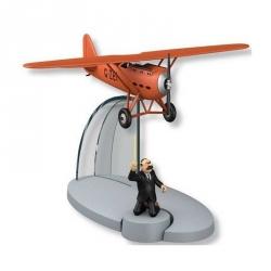Figurine de collection Tintin L'avion rouge Müller L'île noire Nº40 29560 (2016)