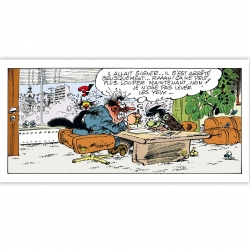 Cuadro en lienzo Tomás el Gafe Signatus Editions du Grand Vingtième (60x30cm)