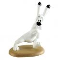 Figurine de collection Astérix Leblon-Delienne Idéfix surpris LAS19F (2005)