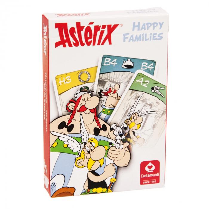 Jeux de cartes des 7 familles Astérix Happy Families (2011)