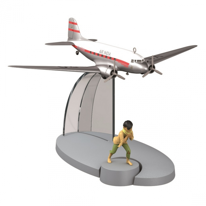 Figura de colección Tintín El avión Air India Tintín en el Tibet Nº12 29532 (2015)