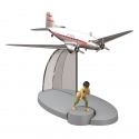 Figurine de collection Tintin L'avion Air India Tintin au Tibet Nº12 29532 (2015)