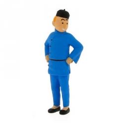 Figurine de collection Tintin en Chine 9cm Moulinsart 42453 (2011)
