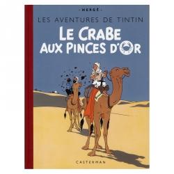 Álbum de Tintín: Le crabe aux pinces d'or Edición fac-similé colores 1943