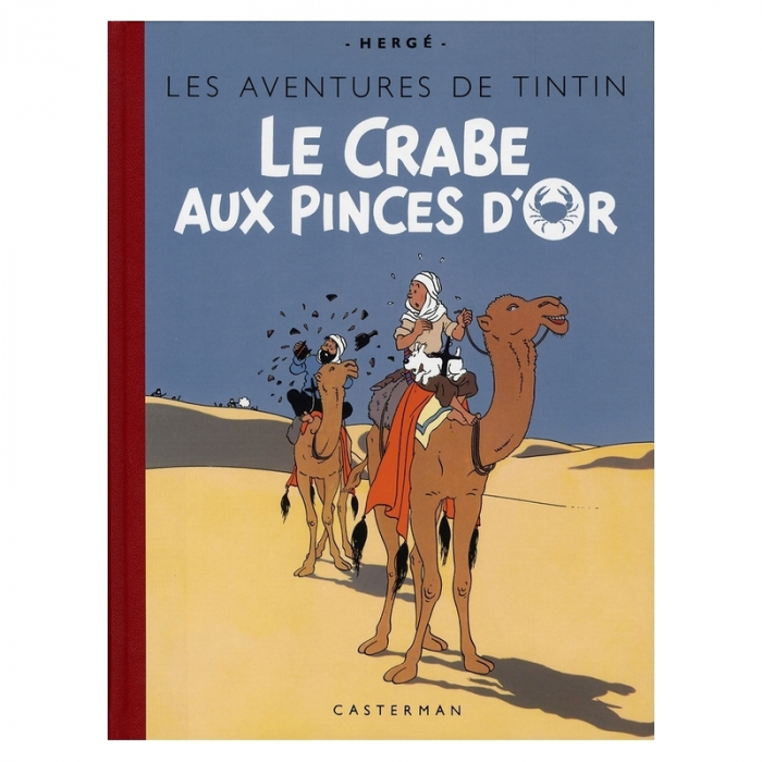 Tintin album: Le crabe aux pinces d'or Edition fac-similé colours 1943