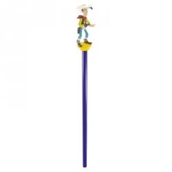 Crayon à papier en bois Plastoy avec figurine: Lucky Luke (63404)