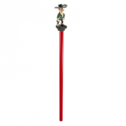 Wooden Pencil Plastoy with mini figure: Lucky Luke, Joe Dalton (63405)