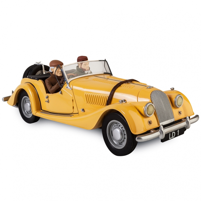 Blake and Mortimer Morgan Plus 4 Orange Figures et Vous Aroutcheff ARJ09O (2015)