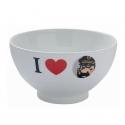 Bol en porcelana de Tintín I Love El Capitán Haddock (47950)