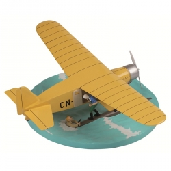 Tintin replica collection The Yellow Seaplane CN-3411 40027 (2011)
