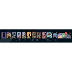 Póster Offset Gomb-R Editions de Blake y Mortimer Atlantide (100x18cm)