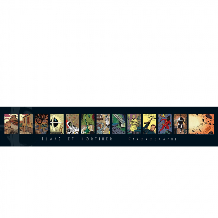 Poster Offset Gomb-R Editions Blake et Mortimer Chronoscaphe (100x18cm)